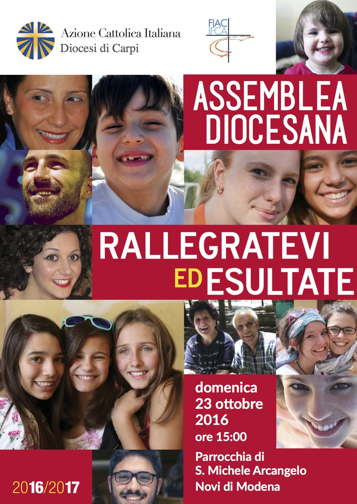 assemblea diocesana AC Carpi 8 novembre 2015